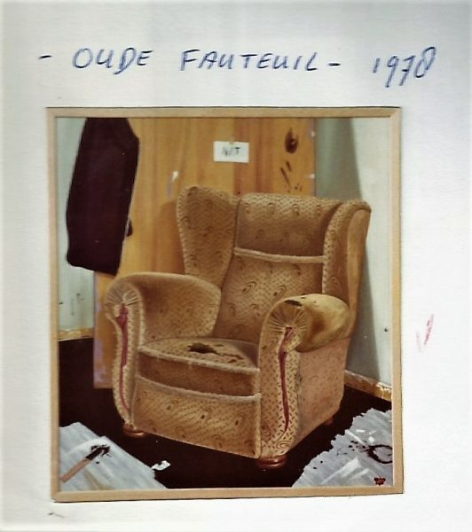 Oude fauteuil
